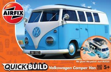 Quickbuild VW Camper Van - Blue · AX J6024 ·  Airfix