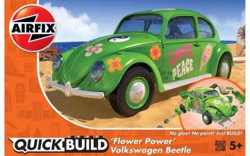 Quickbuild VW Beetle Flower-Power · AX J6031 ·  Airfix