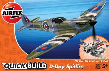 Quickbuild D-Day Spitfire · AX J6045 ·  Airfix