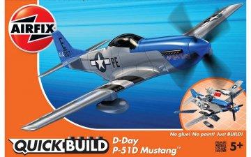 Quickbuild - Day Mustang · AX J6046 ·  Airfix