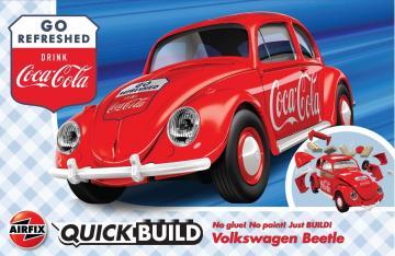 Coca-Cola VW Beetle - Quickbuild · AX J6048 ·  Airfix