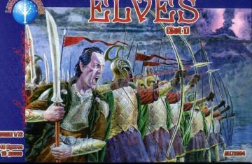 Elves, set 1 · ALL 72004 ·  Alliance · 1:72