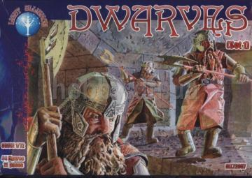 Dwarves, set 1 · ALL 72007 ·  Alliance · 1:72