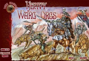 Heavy Warg Orcs · ALL 72010 ·  Alliance · 1:72