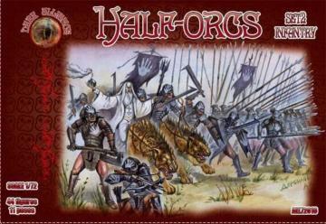 Half-Orgs infantry, set 2 · ALL 72016 ·  Alliance · 1:72