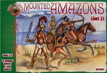 Mounted Amazons (Set 2) · ALL 72021 ·  Alliance · 1:72
