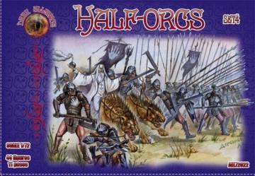 Half-Orcs, set 4 · ALL 72022 ·  Alliance · 1:72