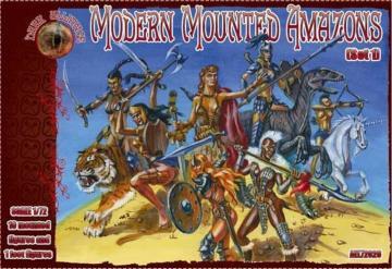 Modern Mounted Amazons, Set 1 · ALL 72026 ·  Alliance · 1:72