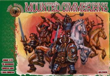 Mounted Cimmerians · ALL 72029 ·  Alliance · 1:72