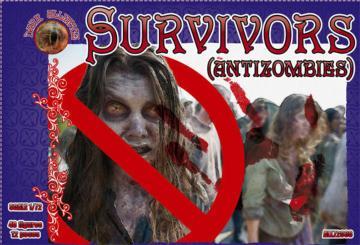 Survivors (antizombies) · ALL 72038 ·  Alliance · 1:72