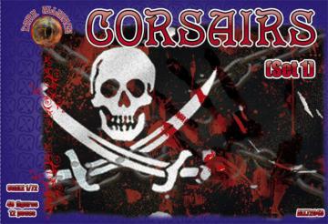 Corsairs - Set 1 · ALL 72043 ·  Alliance · 1:72
