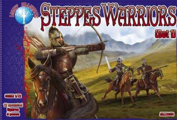 Steppes Warriors - Set 1 · ALL 72051 ·  Alliance · 1:72