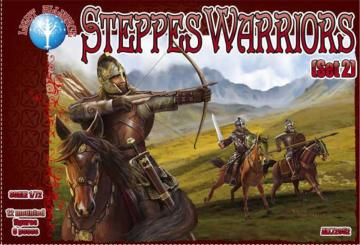 Steppes Warriors - Set 2 · ALL 72052 ·  Alliance · 1:72
