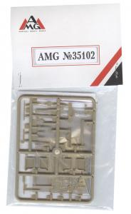 German accessories an spare parts WWII · AMG 35102 ·  AMG · 1:35
