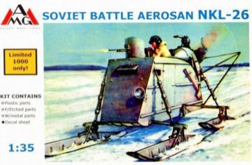 NKL-26 Aerosan (aerosledge, snowmobile) · AMG 35302 ·  AMG · 1:35