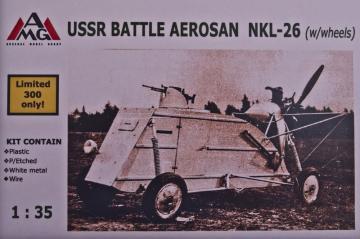 NKL-26 Aerosan on wheels · AMG 35303 ·  AMG · 1:35
