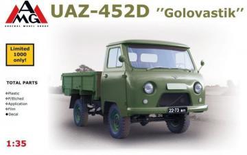 UAZ-452D Golovastik · AMG 35403 ·  AMG · 1:35