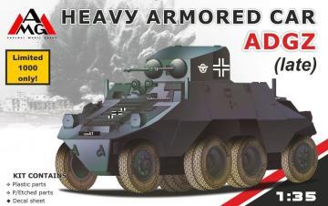Heavy Armored Car ADGZ (late) · AMG 35502 ·  AMG · 1:35