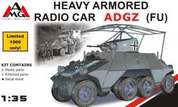 Heavy Armored Radio Car ADGZ (FU) · AMG 35504 ·  AMG · 1:35