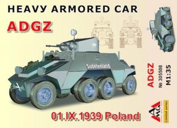 Heavy Armored Car ADGZ(01.IX.1939 Poland · AMG 35508 ·  AMG · 1:35