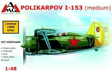 Polikarpov I-153 Chaika (medium) · AMG 48304 ·  AMG · 1:48