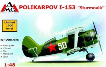 Polikarpov I-153 Sturmovik · AMG 48306 ·  AMG · 1:48