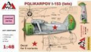 Polikarpov I-153 Chaika (late) · AMG 48308 ·  AMG · 1:48