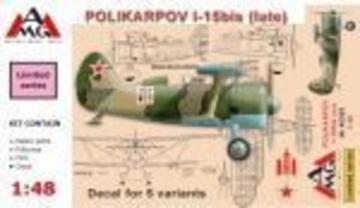 Polikarpov I-15 bis (late) · AMG 48309 ·  AMG · 1:48