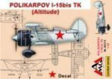Polikarpov I-15 bis TK (altitude) · AMG 48319 ·  AMG · 1:48