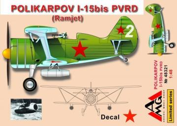 Polikarpov I-15 bis PVRD (Ramjet) · AMG 48321 ·  AMG · 1:48
