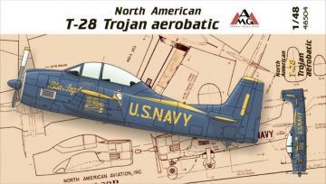 North American T-28 Trojan aerobatic · AMG 48504 ·  AMG · 1:48