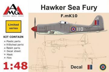 F.mK10 Hawker Sea Fury · AMG 48601 ·  AMG · 1:48