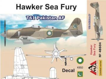 Hawker Sea Fury T61 Pakistan AF · AMG 48604 ·  AMG · 1:48