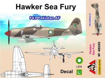 Hawker Sea Fury F61 Pakistan AF · AMG 48605 ·  AMG · 1:48