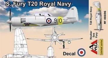 Sea Fury T.20 · AMG 48606 ·  AMG · 1:48