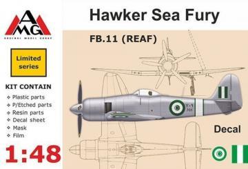 FB.11 (REAF) Hawker Sea Fury · AMG 48607 ·  AMG · 1:48