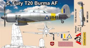 Sea Fury T.20 Burma · AMG 48614 ·  AMG · 1:48