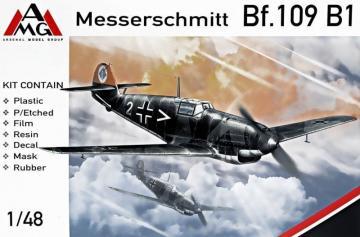 Messerschmitt Bf 109 B-1 · AMG 48713 ·  AMG · 1:48
