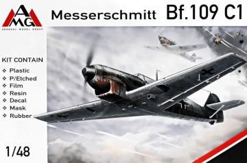 Messerschmitt Bf 109 C-1 · AMG 48716 ·  AMG · 1:48