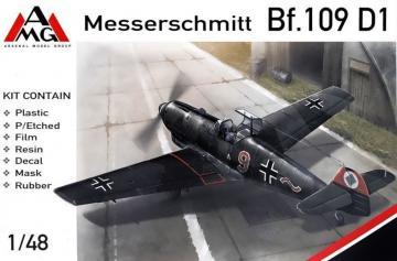 Messerschmitt Bf 109 D-1 · AMG 48719 ·  AMG · 1:48