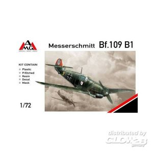 Messerschmitt Bf 109 B-1 · AMG 72403 ·  AMG · 1:72