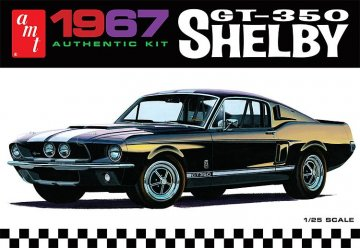 1967er Shelby GT 350, weiss · AMT 0800 ·  AMT/MPC · 1:25