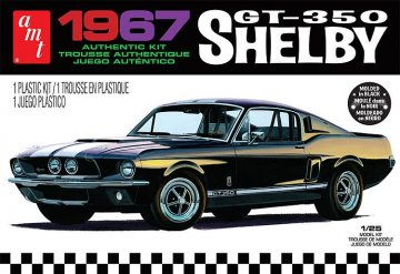 1967 Shelby GT350 · AMT 0834 ·  AMT/MPC · 1:25