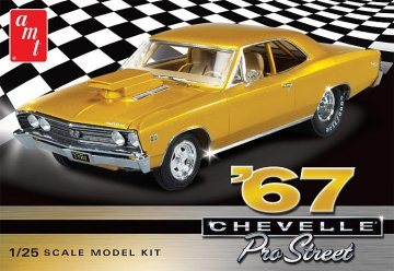 1967er Chevy Chevelle Pro Street · AMT 0876 ·  AMT/MPC · 1:25