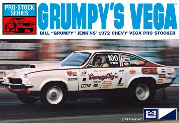 1972 Chevy Vega Pro Stock, Bill Grumpy Jenkins · AMT 0877 ·  AMT/MPC · 1:25