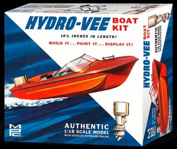 Hydro-Vee Boot · AMT 0883 ·  AMT/MPC · 1:18