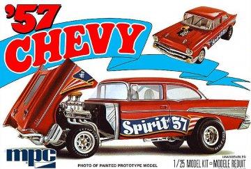 Chevy Flip Nose Spirit of 57 · AMT 0904 ·  AMT/MPC · 1:25
