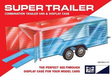 Super Display Case Trailer · AMT 0909 ·  AMT/MPC · 1:25