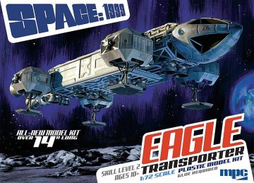 Space: 1999, 14 Zoll Eagle Transporter · AMT 0913 ·  AMT/MPC · 1:72
