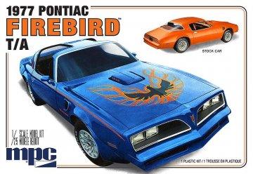 1977er Pontiac Firebird  · AMT 0916 ·  AMT/MPC · 1:25
